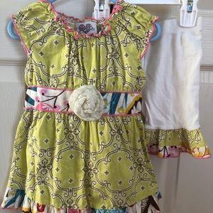 Ann Loren girls outfit